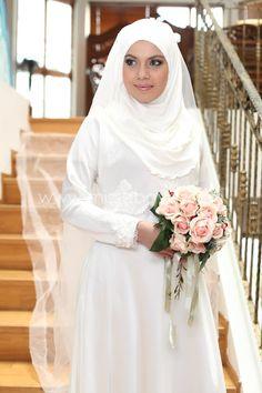 فساتين زفاف تركية للمحجبات 2015
