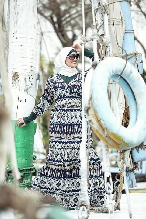 ملابس محجبات صيفية كنزي ورهف 2015