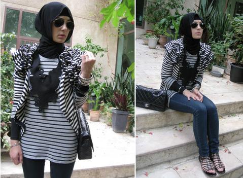 احلي ملابس محجبات مصرية 2015