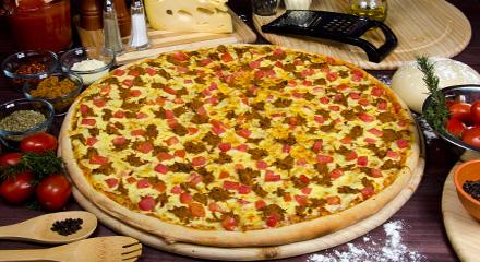 بيتزا هت بالكفتة الايطالي