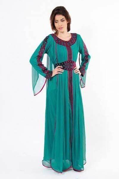www.fatakat-ar.comColorful-Luxury-Abaya-Dresses-2014-2015.-14