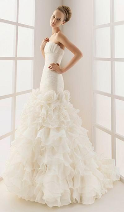 فساتين زفاف بيضاء 2015