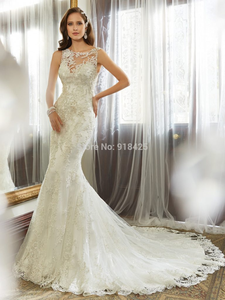 اجمل فساتين زفاف عام 2015