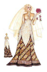 تصميمات فساتين زفاف اسلامية