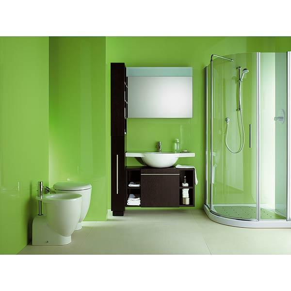ديكورات حمامات خضراء 2015