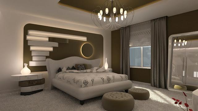ديكورات غرف نوم عصرية للعرسان من فرنسا بالصور 2017