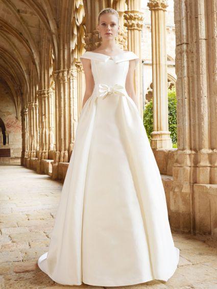 احلي فساتين زفاف اسبانية استيل 2015