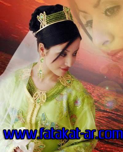 احدث قفطان زفاف في المغرب