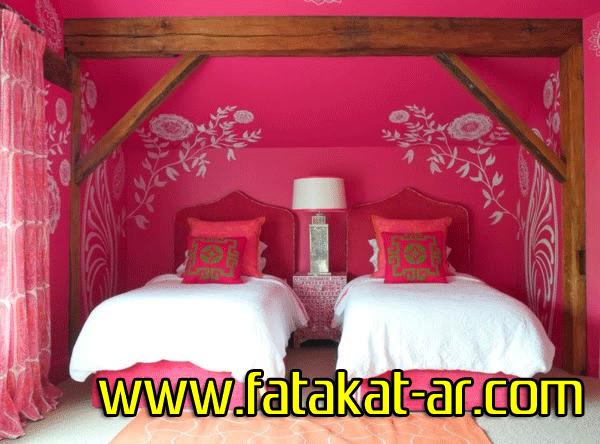 ديكورات جميلة لغرف النوم