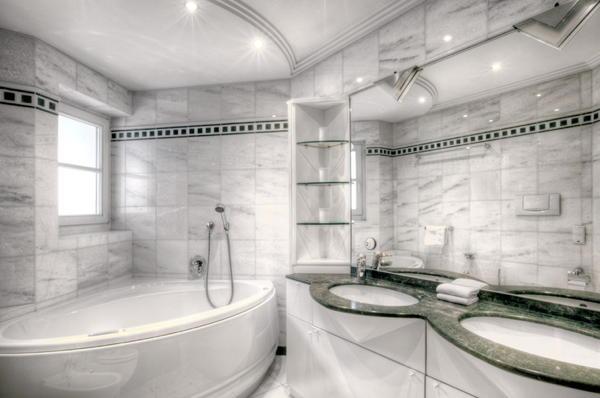 ديكورات حمامات عصرية