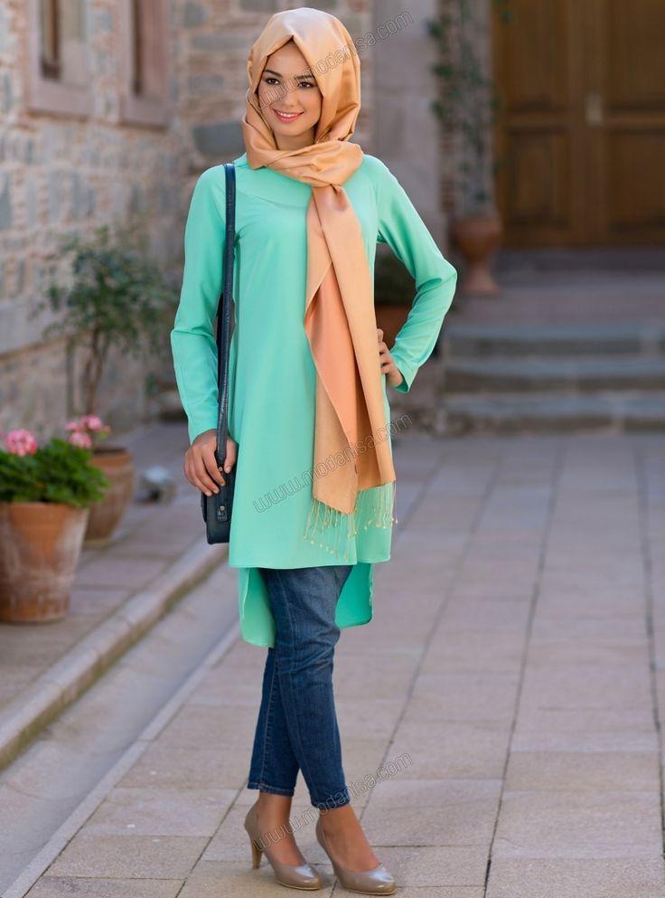 كولكشن ملابس محجبات للخروج 2015