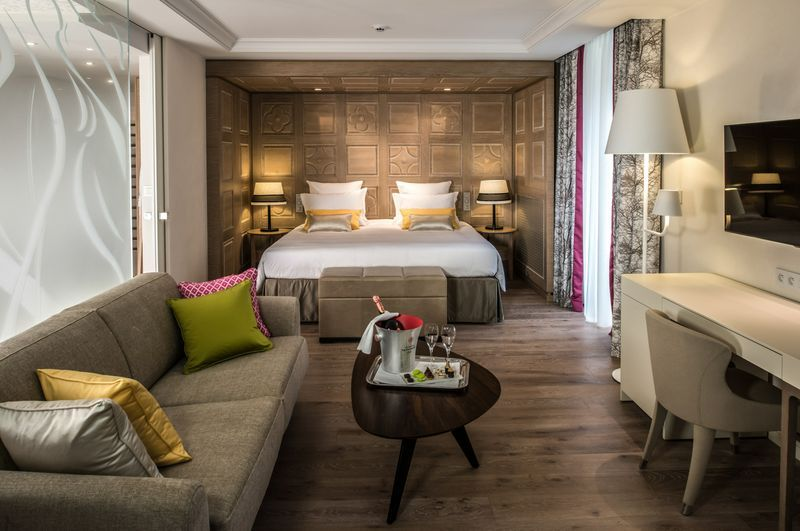 ديكورات غرف نوم من الفنادق المصرية عام 2015