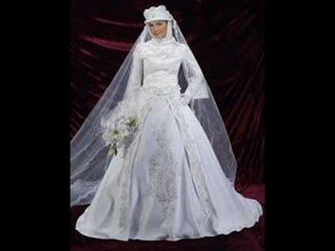 فساتين زفاف دانتيل في ستان موضة 2015