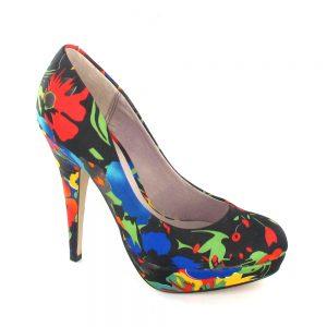 احذية نسائية ملونة