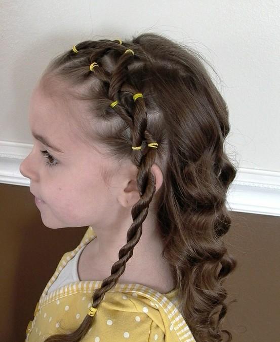 تسريحات شعر للاطفال روعة 2015