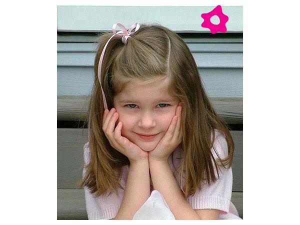 تسريحات شعر للاطفال الشعر الناعم