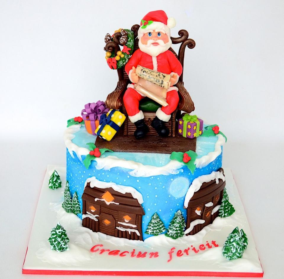 صور تورتة بابا نويل - تورتة راس السنة