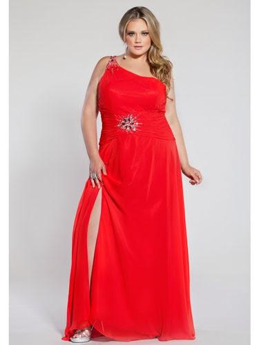 احدث صيحات الفساتين السواريه للبدينات 2015