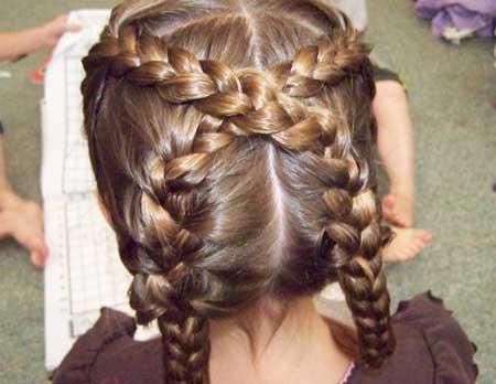 احلي تسريجات شعر للاطفال